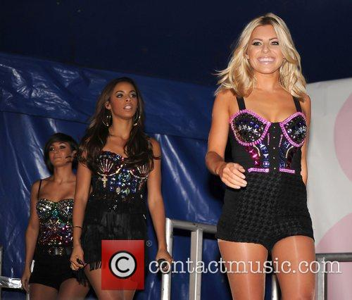 Rochelle Wiseman, Frankie Sandford and Mollie King 1