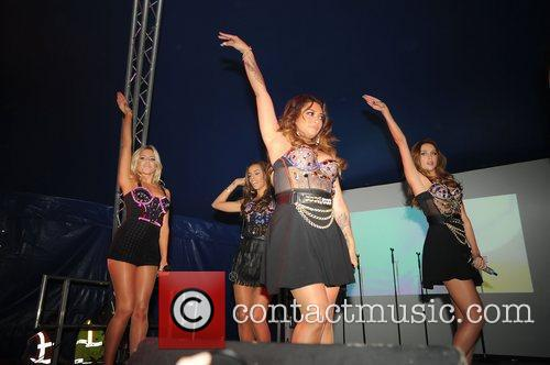 Of The Saturdays performing live on stage at...