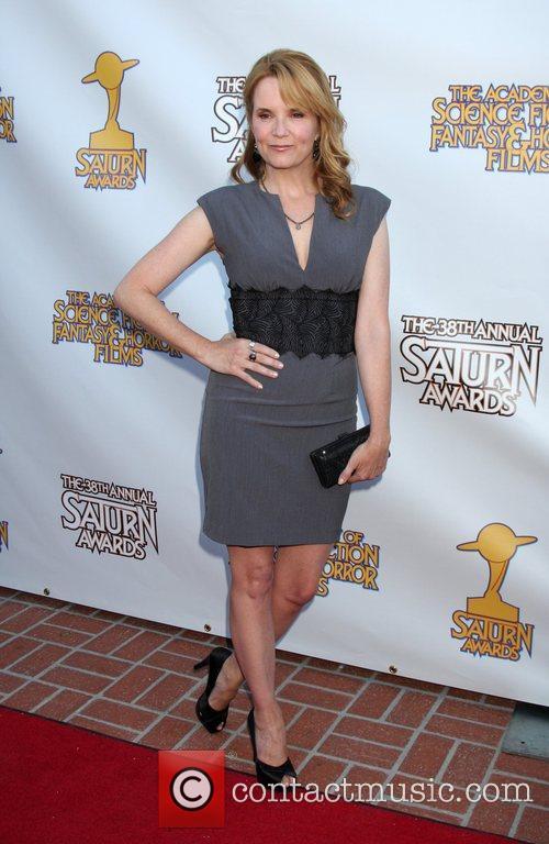 Lea Thompson and Saturn Awards 3