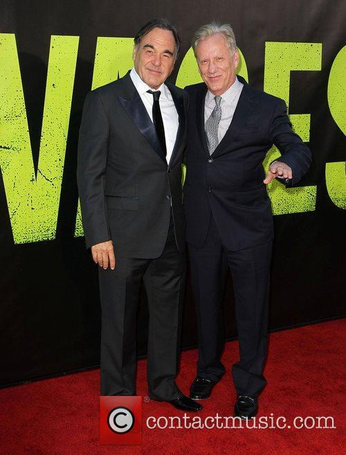 Oliver Stone and James Woods 2