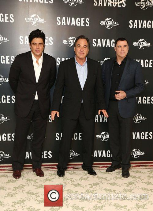 John Travolta, Benicio Del Toro and Oliver Stone 10