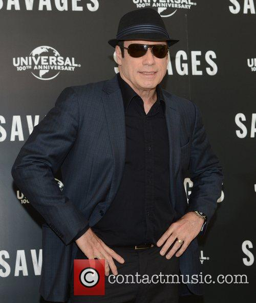 John Travolta, Savages, Mandarin Oriental, London and England 1