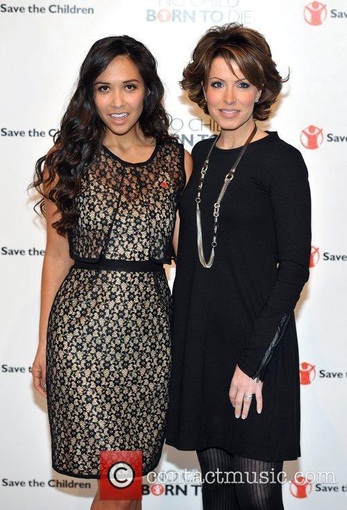 Myleene Klass and Natasha Kaplinsky 2