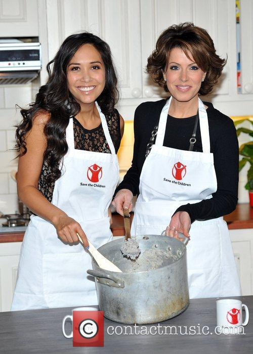 Myleene Klass and Natasha Kaplinsky 4