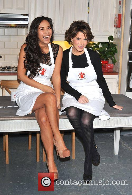 Myleene Klass and Natasha Kaplinsky 1