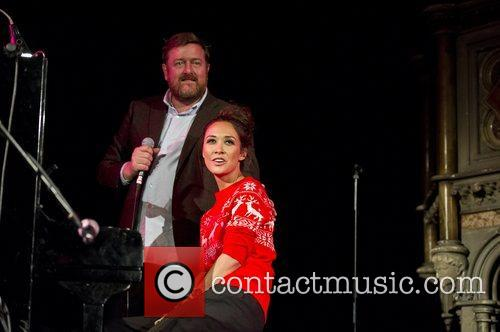 Myleene Klass, Guy Garvey, Elbow, Save, Children's Christmas Tree Sessions and Union Chapel 12