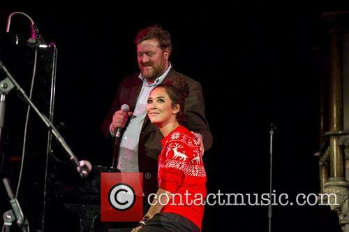 Myleene Klass, Guy Garvey, Elbow, Save, Children's Christmas Tree Sessions and Union Chapel 9