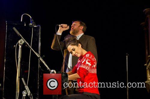 Myleene Klass, Guy Garvey, Elbow, Save, Children's Christmas Tree Sessions and Union Chapel 10