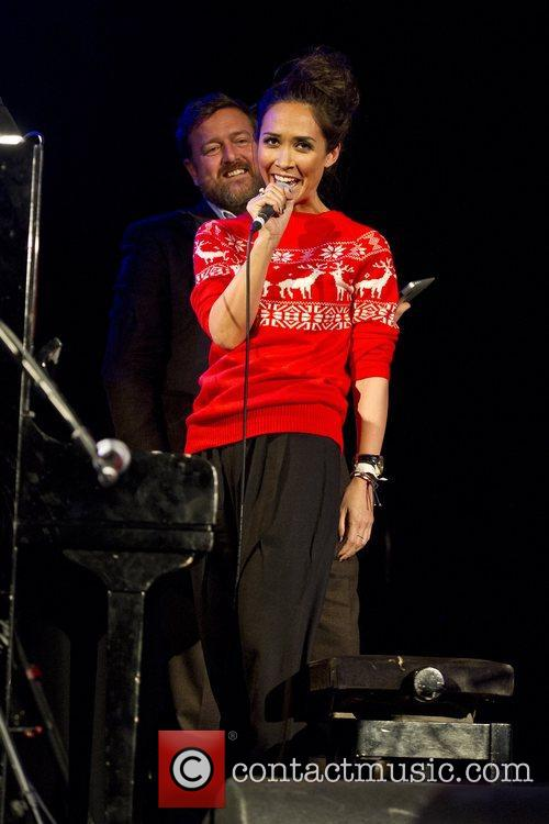 Myleene Klass, Guy Garvey, Elbow, Save, Children's Christmas Tree Sessions and Union Chapel 11