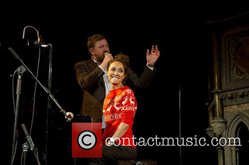 Myleene Klass, Guy Garvey, Elbow, Save, Children's Christmas Tree Sessions and Union Chapel 13