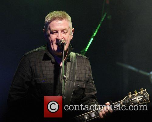 Davy Carton  'The Saw Doctors' performs at...