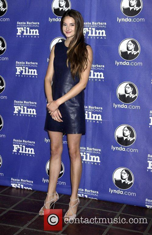 Shailene Woodley and Santa Barbara Film Festival 1