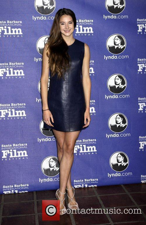 Shailene Woodley and Santa Barbara Film Festival 2