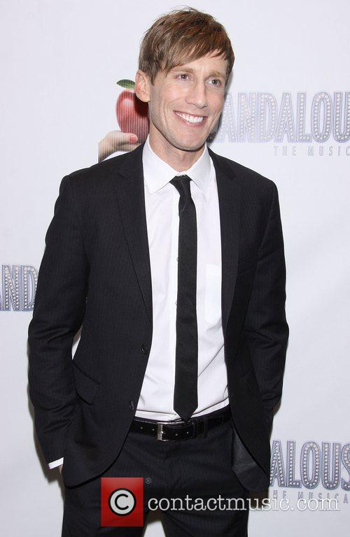 Andrew Samonsky After party for 'Scandalous The Musical'...