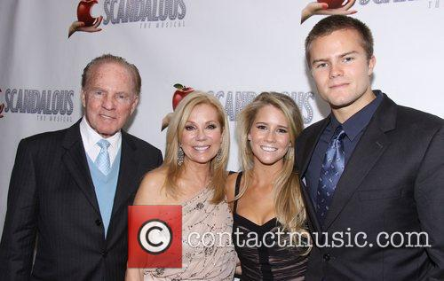 Frank Gifford and Kathie Lee Gifford, Cassidy Gifford...