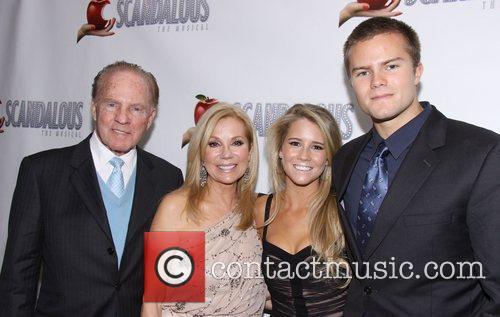Kathie Lee Gifford, Frank Gifford, Cassidy Gifford and Cody Gifford 11