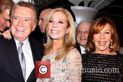Kathie Lee Gifford, Regis Philbin and Joy Philbin 2