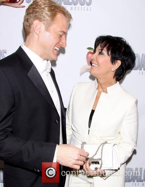 Kris Jenner and Edward Watts After party for...