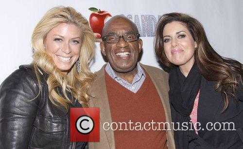 Jill Martin, Al Roker and Bobbie Thomas...