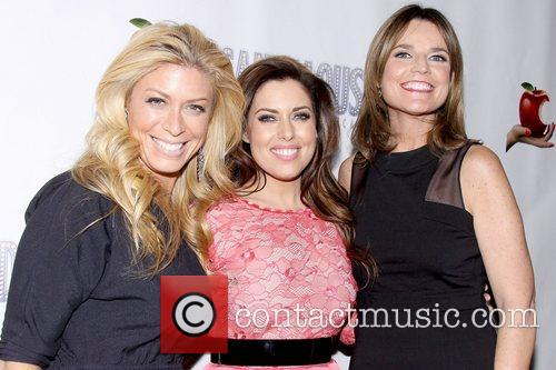 Jill Martin, Bobbie Thomas and Savannah Guthrie attend...