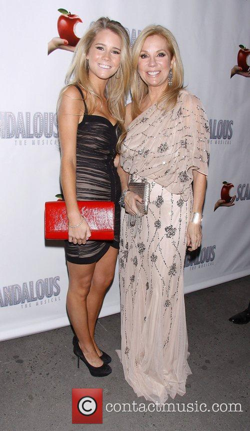 Kathie Lee Gifford, Cassidy Erin Gifford, Scandalous The Musical, Neil Simon Theatre and Arrivals. New York City 9