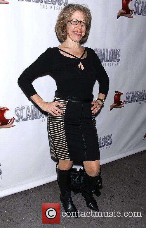 Jackie Hoffman, Scandalous The Musical, Neil Simon Theatre and Arrivals. New York City 1