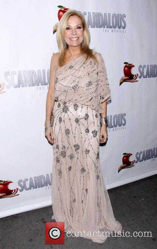 Kathie Lee Gifford, Scandalous The Musical, Neil Simon Theatre and Arrivals. New York City 7