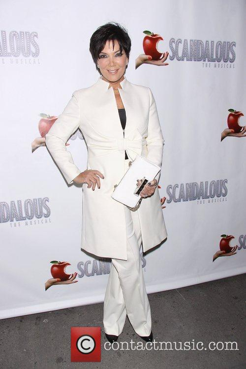 Kris Jennerat the premiere of 'Scandalous The Musical'...