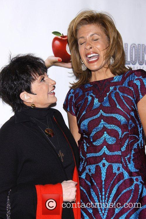Liza Minnelli, Hoda Kotbat, Scandalous The Musical, Neil Simon Theatre and Arrivals. New York City 3