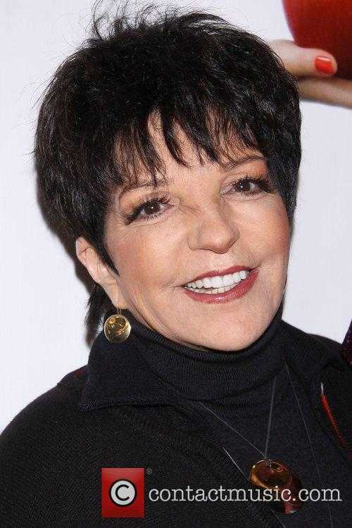 Liza Minnelli at the premiere of 'Scandalous The...