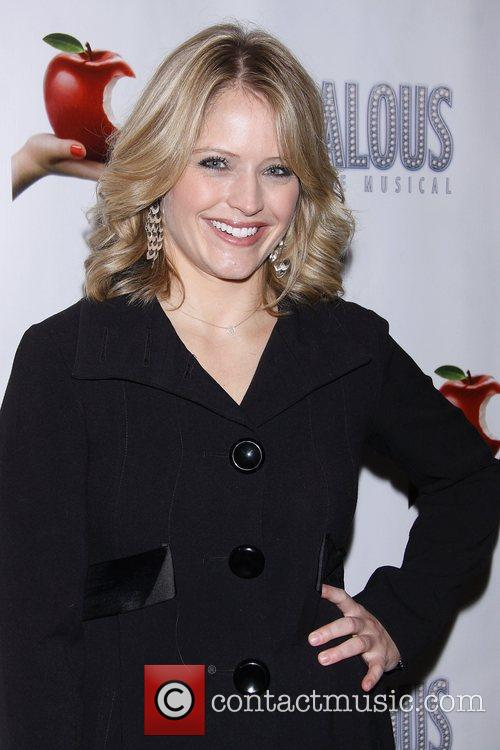 Sara Hainesat the premiere of 'Scandalous The Musical'...