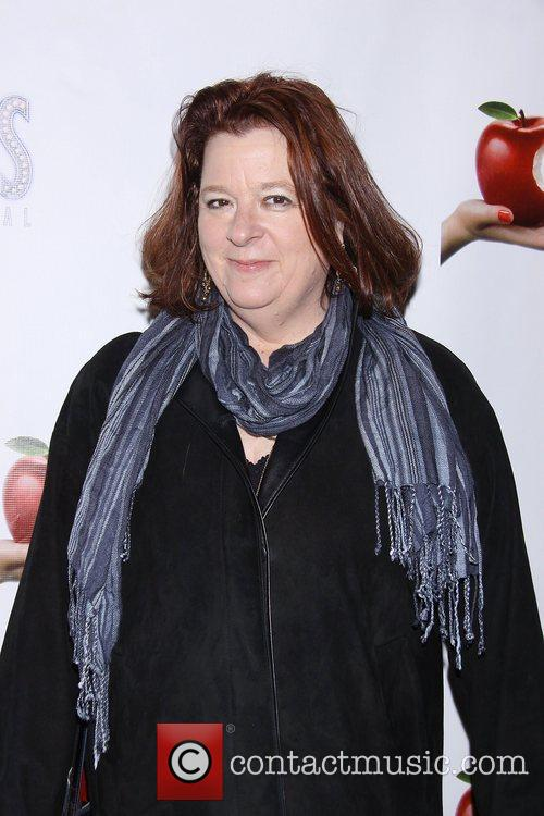 Theresa Rebeck, Scandalous The Musical, Neil Simon Theatre and Arrivals. New York City