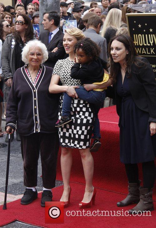 Scarlett Johansson, Melanie Johansson, grandmother Scarlett Johansson is...