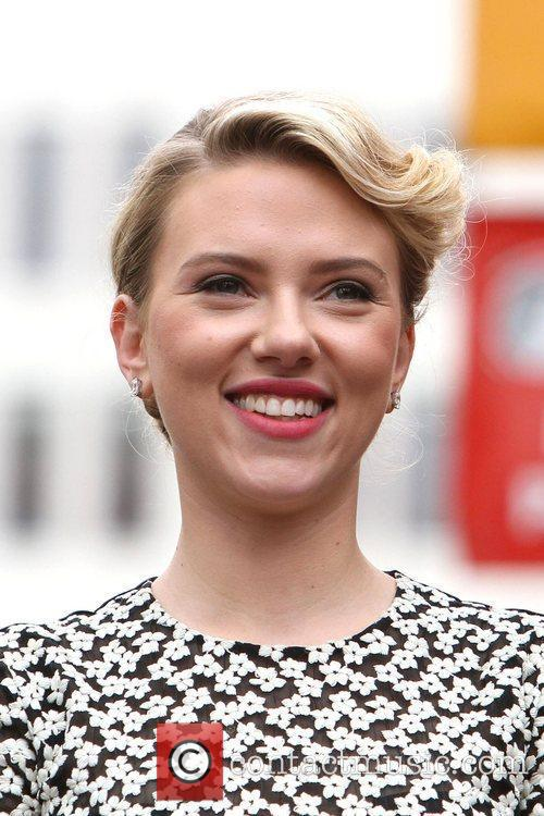 Scarlett Johansson and Star On The Hollywood Walk Of Fame 20