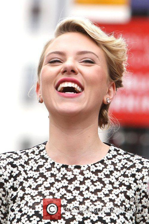 Scarlett Johansson and Star On The Hollywood Walk Of Fame 22