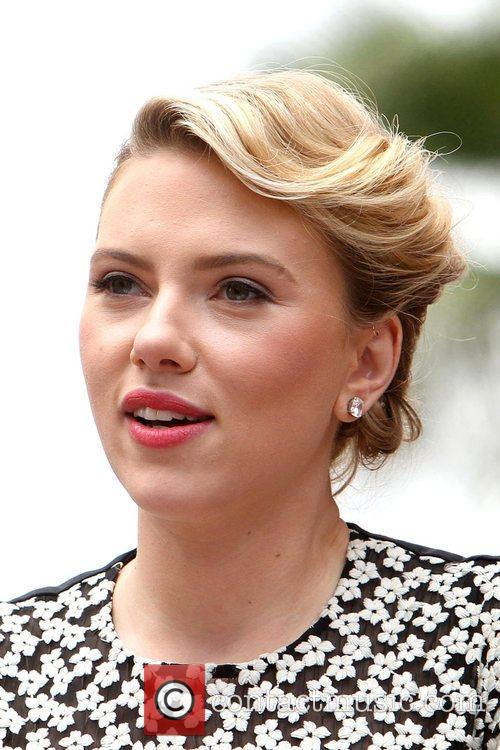 Scarlett Johansson and Star On The Hollywood Walk Of Fame 23
