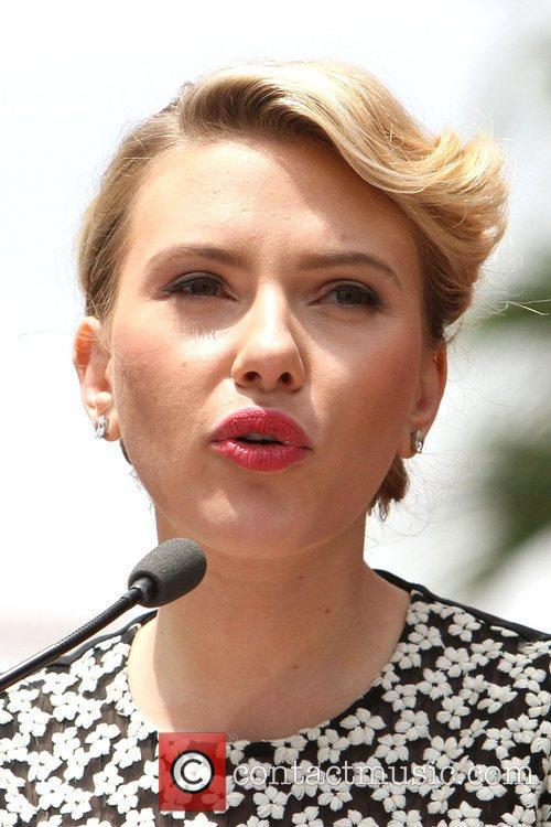 Scarlett Johansson and Star On The Hollywood Walk Of Fame 26