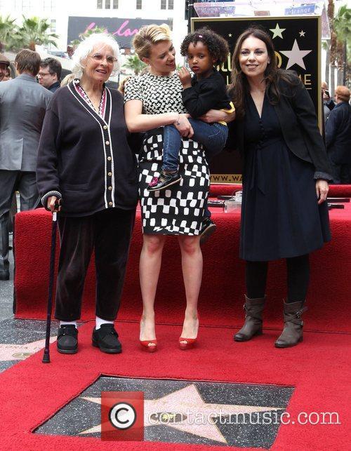 Scarlett Johansson, mother Melanie Johansson, grandmother Actress Scarlett...