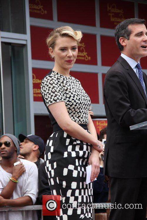 Scarlett Johansson and Star On The Hollywood Walk Of Fame 34