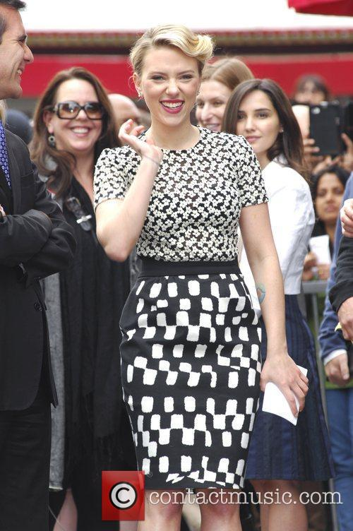 Scarlett Johansson and Star On The Hollywood Walk Of Fame 40