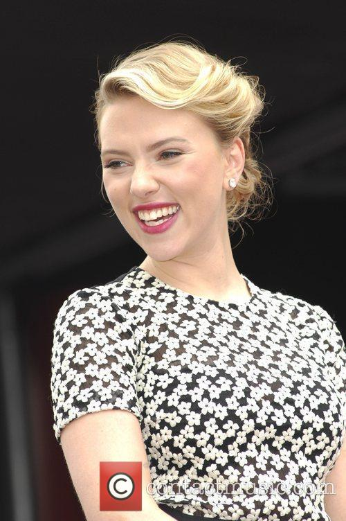 Scarlett Johansson and Star On The Hollywood Walk Of Fame 43