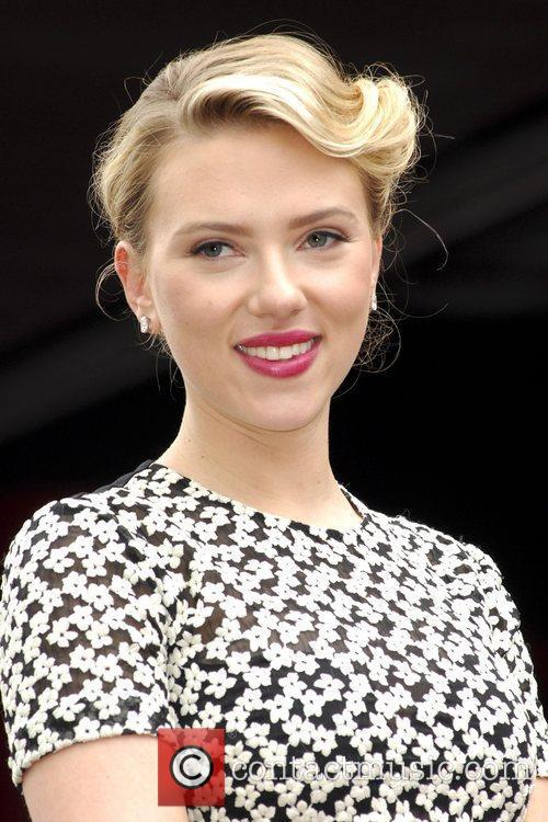 Scarlett Johansson and Star On The Hollywood Walk Of Fame 44