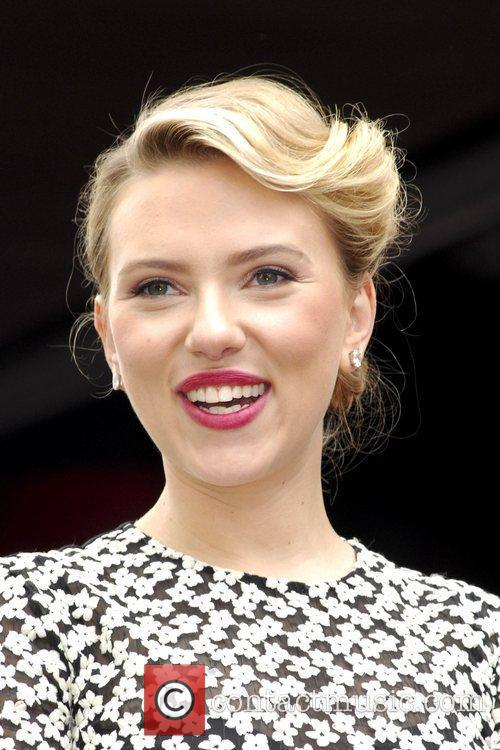 Scarlett Johansson and Star On The Hollywood Walk Of Fame 45