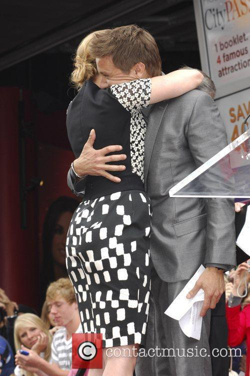 Scarlett Johansson, Jeremy Renner and Star On The Hollywood Walk Of Fame 4