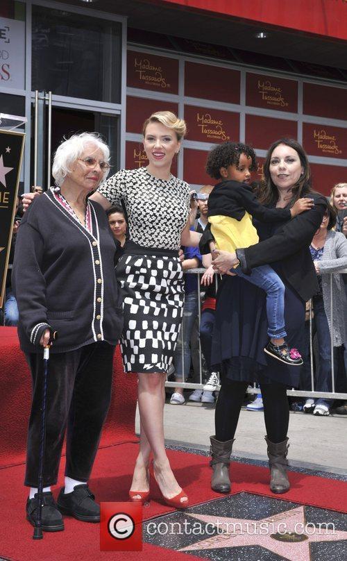 Scarlett Johansson, Melanie Johansson, grandmother Actress Scarlett Johansson...