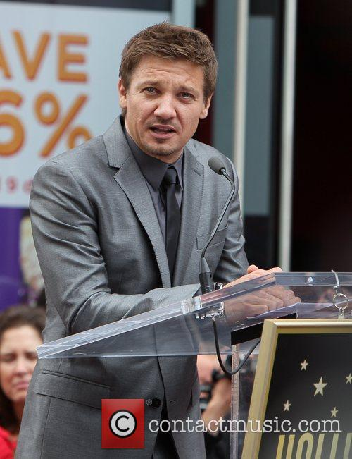 Scarlett Johansson, Jeremy Renner and Star On The Hollywood Walk Of Fame 7