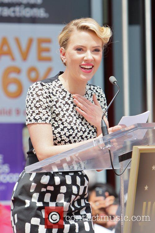 Scarlett Johansson and Star On The Hollywood Walk Of Fame 57