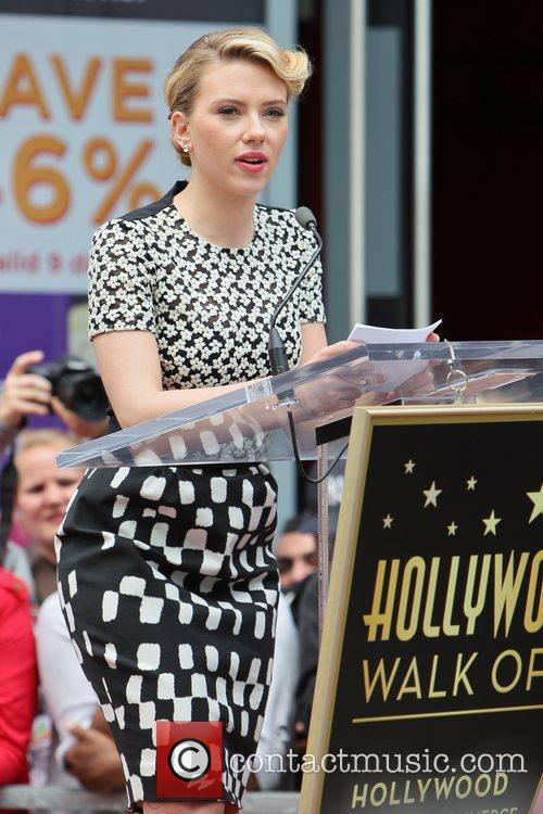 Scarlett Johansson and Star On The Hollywood Walk Of Fame 61