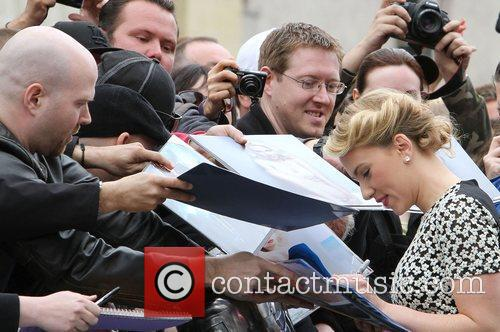 Scarlett Johansson and Star On The Hollywood Walk Of Fame 3