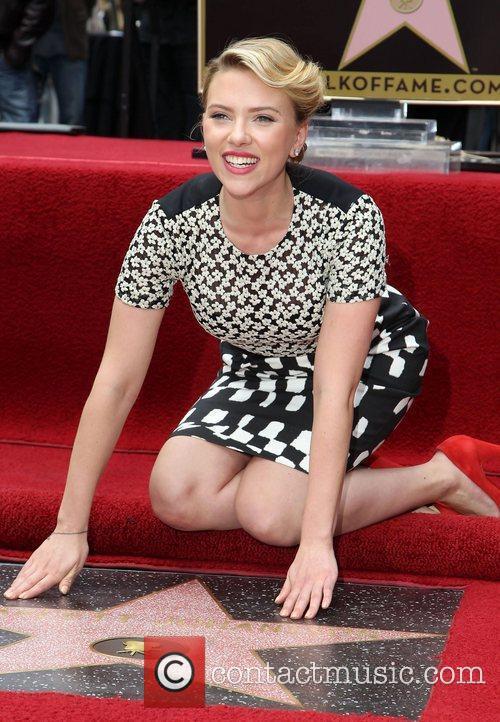 Scarlett Johansson, Star On The Hollywood Walk Of Fame